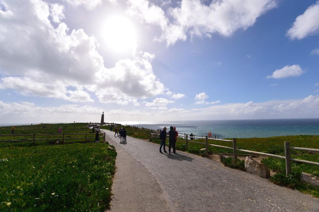 ロカ岬の舗装路