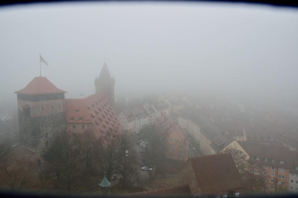 ニュルンベルク城からの眺め