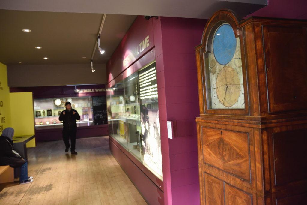 グリニッジの時計の展示
