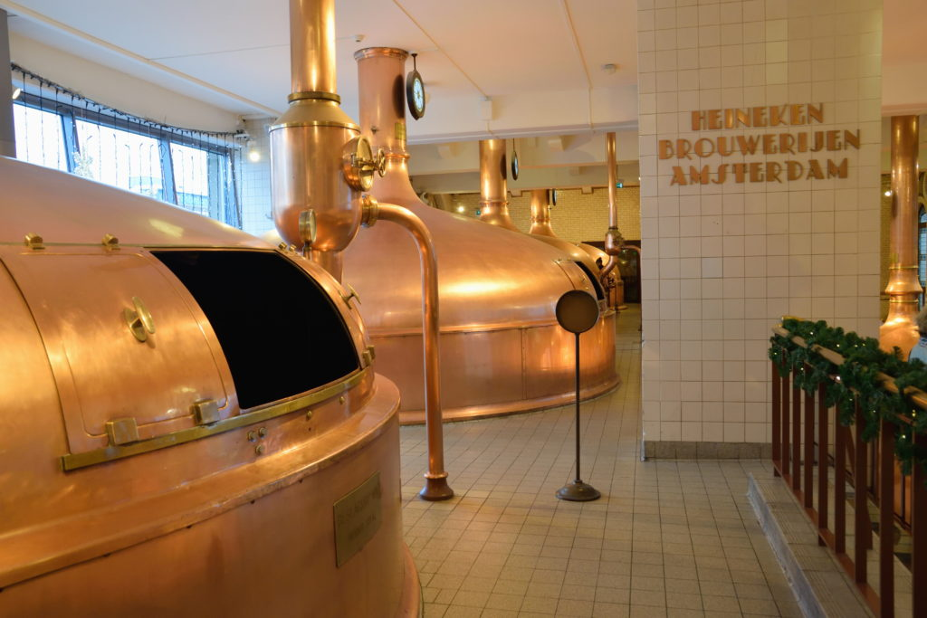 ビール醸造のための機械