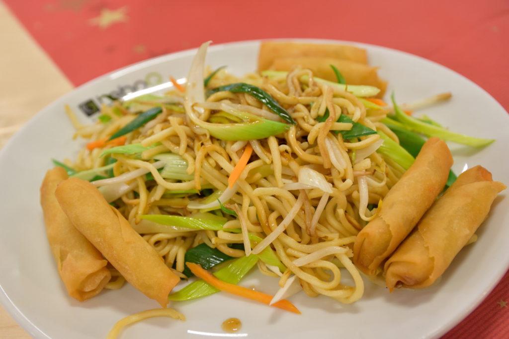 昼食に食べた中華料理