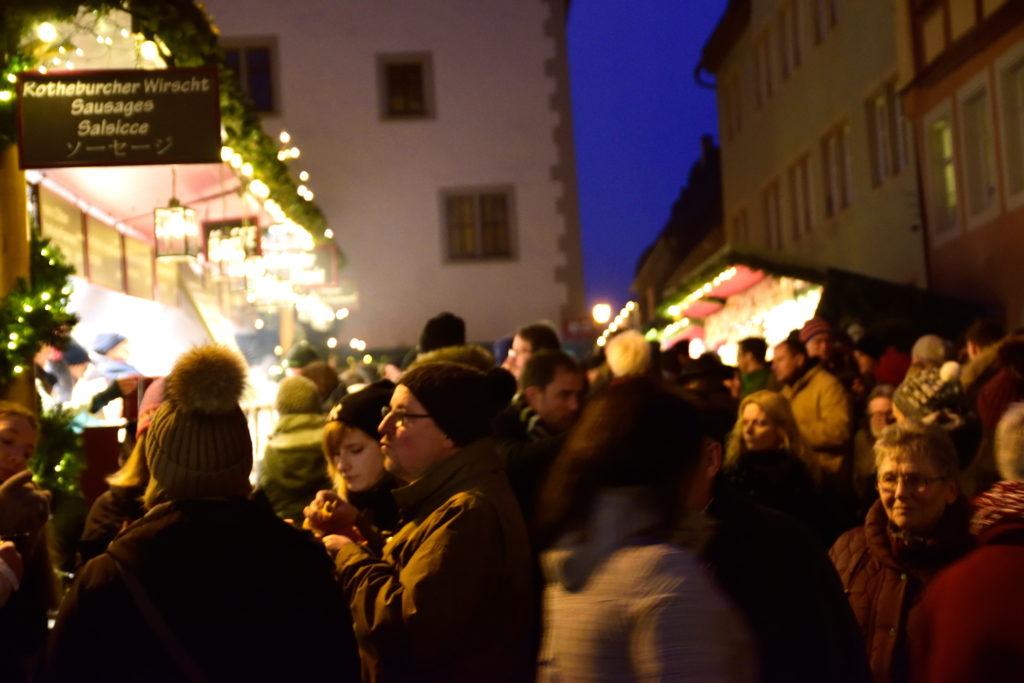 ローデンブルクのクリスマスマーケット