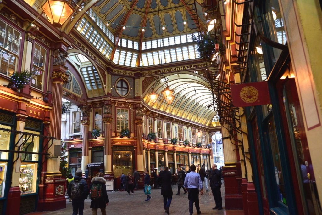 街並みが素敵なロンドンのマーケット