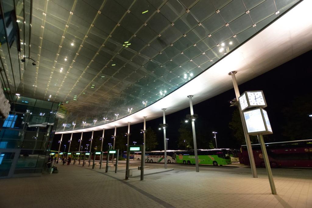 ハンブルク中央バス・ステーションZOB