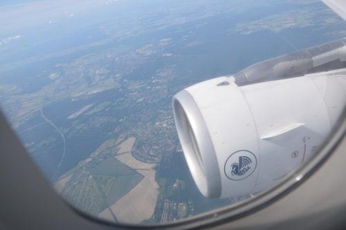A321のエンジン