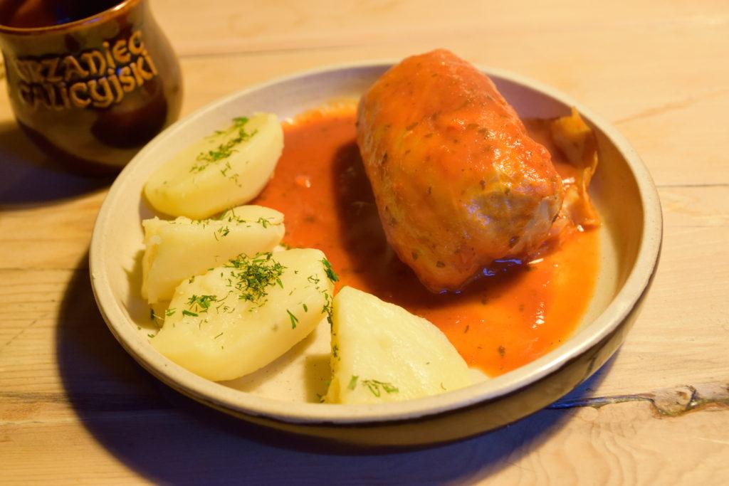 ポーランドの伝統料理、ロールキャベツ