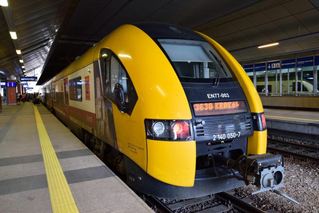 クラクフの鉄道