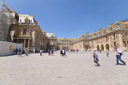 ヴェルサイユ宮殿の内部