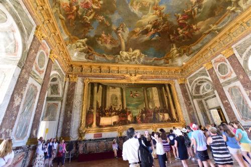 ヴェルサイユ宮殿の部屋