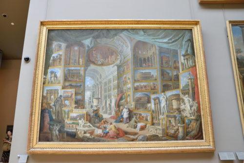 『Galerie de vues de la Rome moderne』Giovanni Paolo Panini/パオロ・パンニーニ