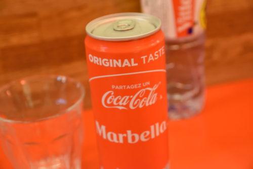 フランスの缶コーラ