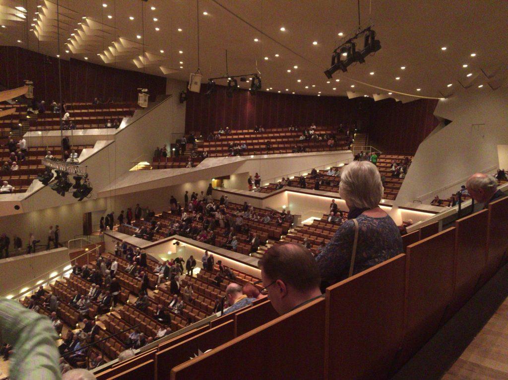 ベルリン・フィルハーモニー 大ホール内の様子