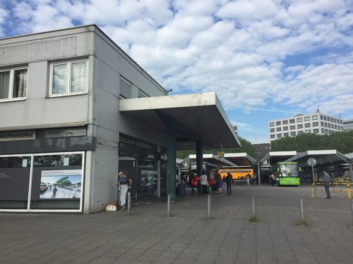 ベルリン中央バスステーション