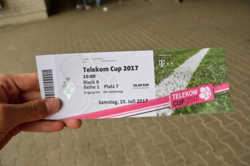 テレコムカップのチケット