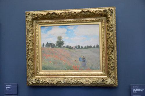 『Coquelicots à Argenteuil/アルジャントゥイユのひなげし』(1873) Claude Monet /クロード・モネ