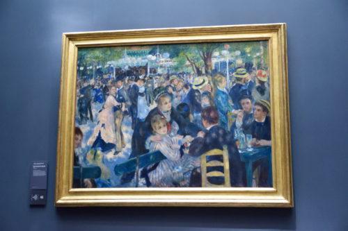 『Bal du moulin de la Galette』(1876) Pierre-Auguste Renoir /ピエール=オーギュスト・ルノワール