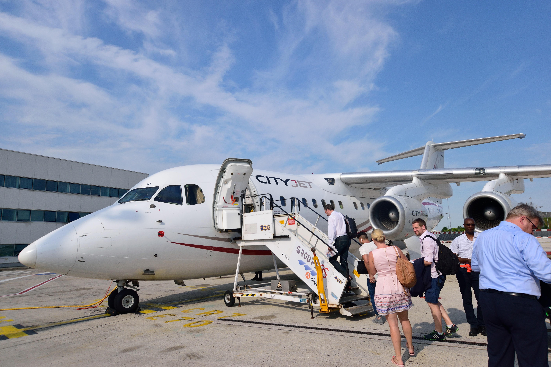 【搭乗記】エール・フランスAF1838便 パリ・シャルルドゴール空港→ハノーファー空港 AVRO RJ85