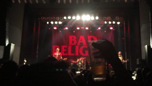 ライブとビール