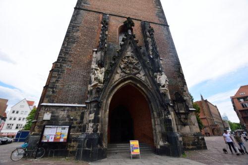 マルクト教会の入り口