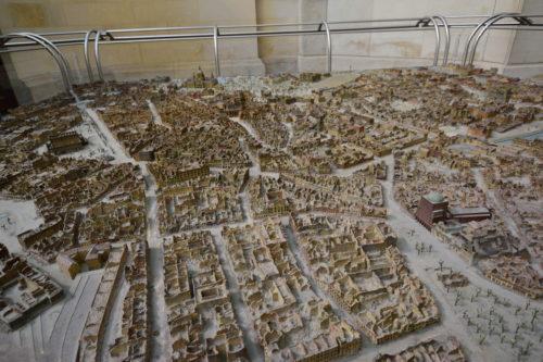 爆撃を受けたハノーファーの街並