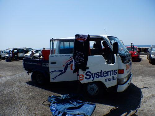 DIVE SYSTEMマルタのトラック