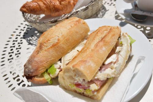 パリのサンドイッチ