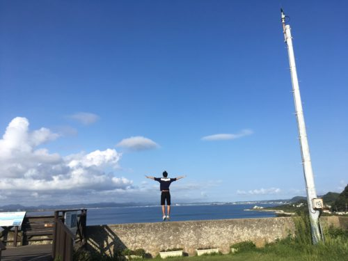 州崎灯台からの眺め