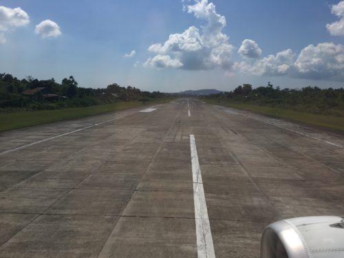 タグビララン空港の滑走路