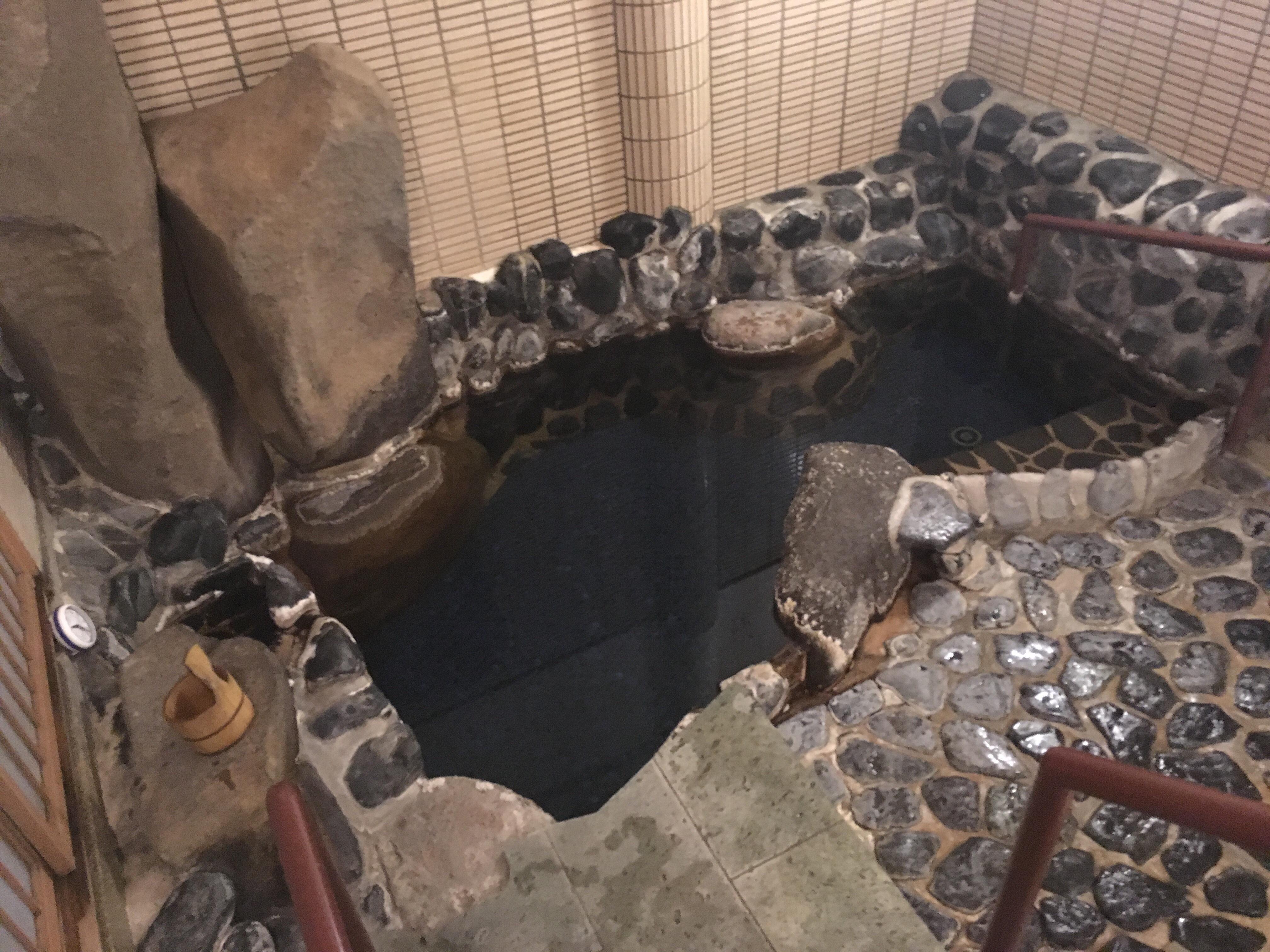 玉造温泉・玉井館の浴場