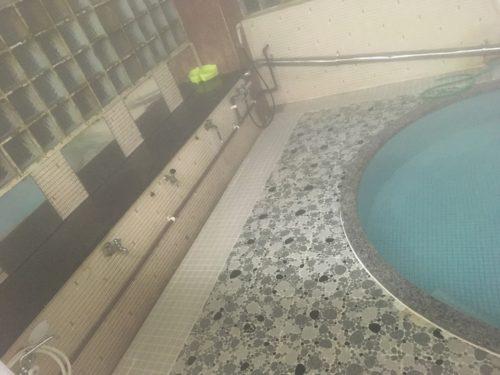 沢の湯のシャワー