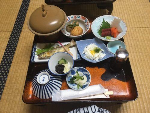唐沢屋旅館の食事