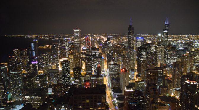 シカゴの街並みと摩天楼を堪能|地球一周旅記DAY9