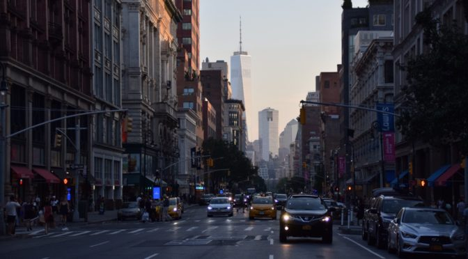 NYを一日丸ごと街歩き|地球一周旅記DAY15