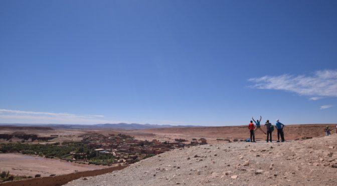 世界遺産ツアーに参加、砂漠へ|地球一周旅記DAY21