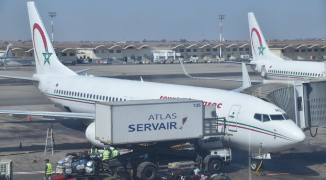 モロッコ航空 ムハンマド5世国際空港→ロンドン・ガトウィック空港AT802便 B737【搭乗記】