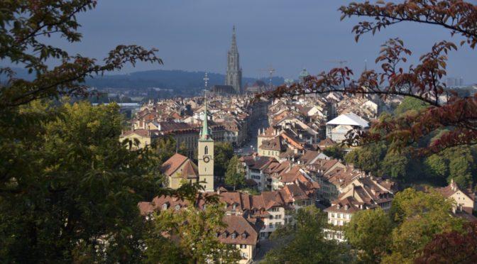 世界遺産都市スイス・ベルンを街歩き(動物園も)|地球一周旅記DAY41