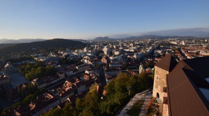 日本では知名度の低い城下町リュブリャナ(スロベニア)を4時間観光|地球一周旅記DAY46