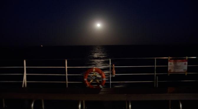 国際フェリーに乗船し一路韓国へ|地球一周旅記DAY66