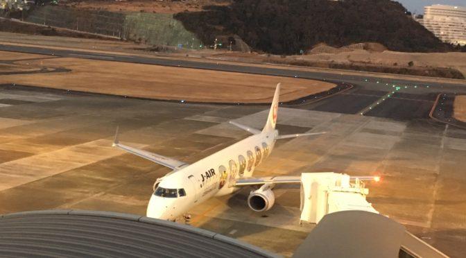 日本航空 南紀白浜空港→羽田空港 JL218便 E190【搭乗記】