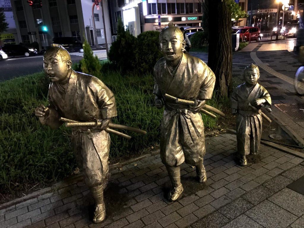 大山巌西郷従道山本権兵衛の銅像