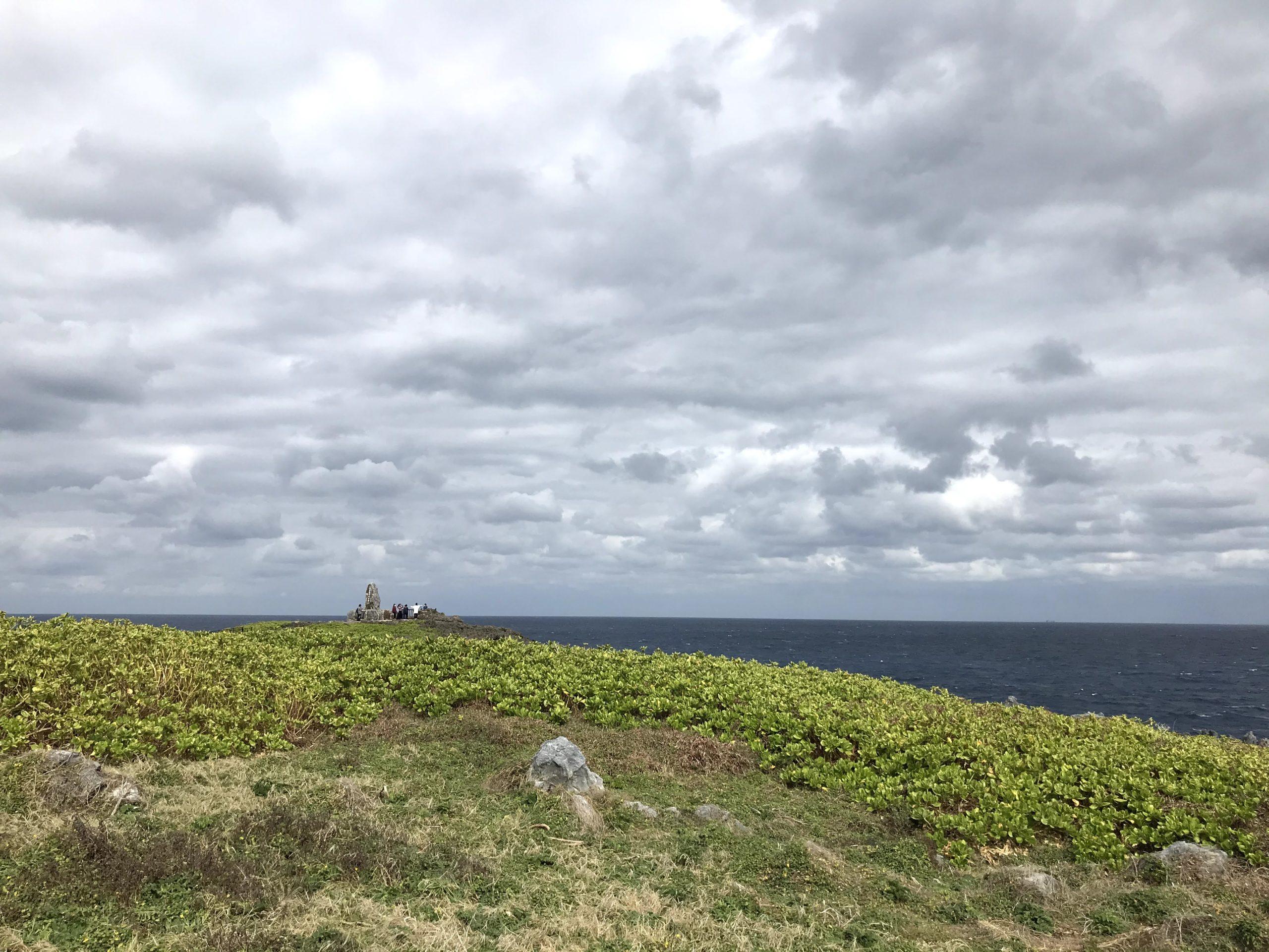 本島最北端辺戸岬