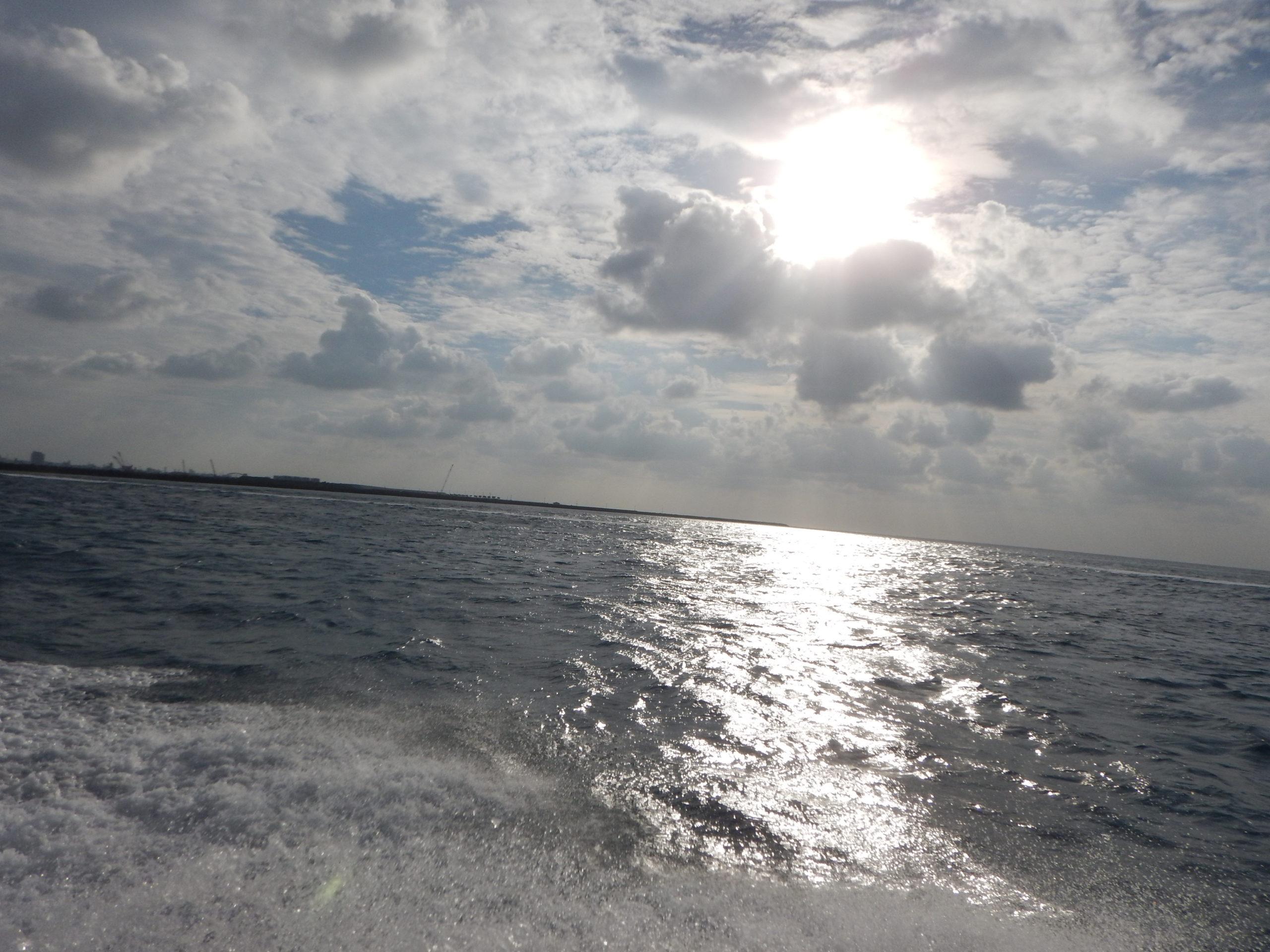 石垣島秋の朝