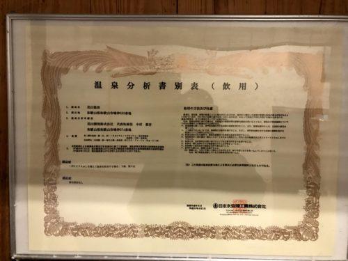 花山温泉_温泉分析書(飲用)